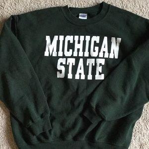 Michigan State University sweatshirt UNISEX